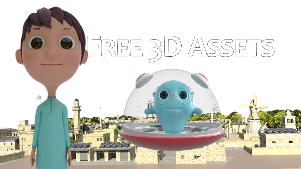 free-3d-assts by Pakistani animator salman naseem