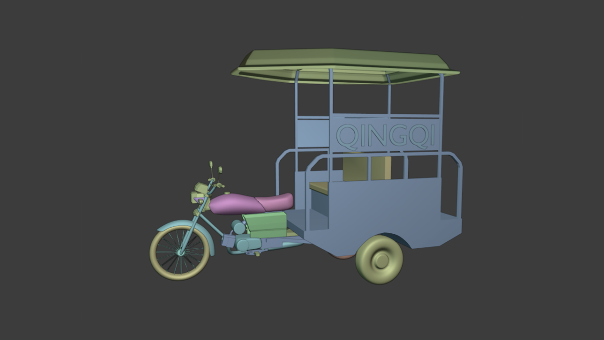 3D-Model-of-Chingchi-Auto-Rickshaw