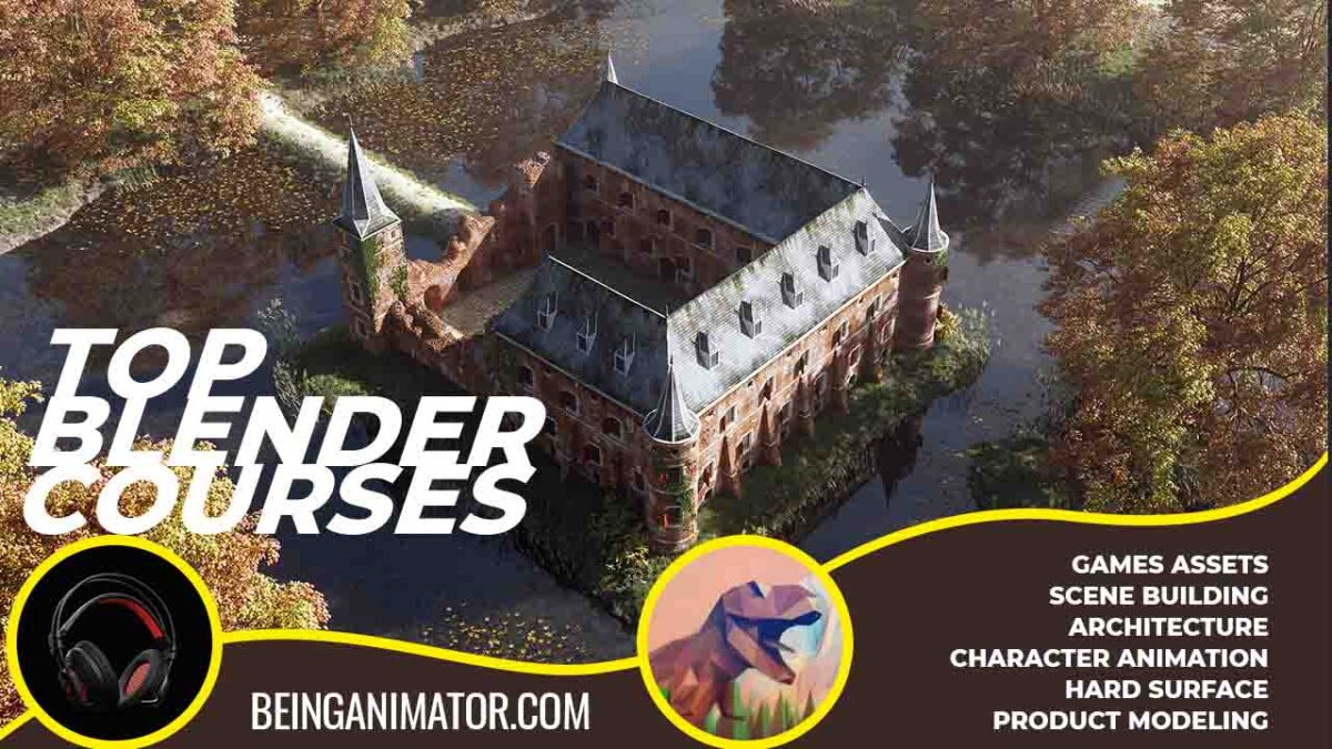 Top 11 Blender Courses Will Make Professional Artist